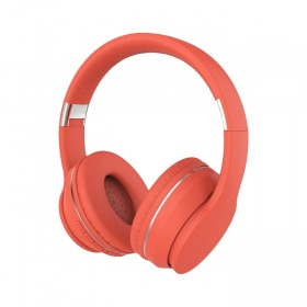 SNTIC-Celebrat-SKY-6-Casque-Bluetooth-Extra-Bass-Sans-Fil-Rouge
