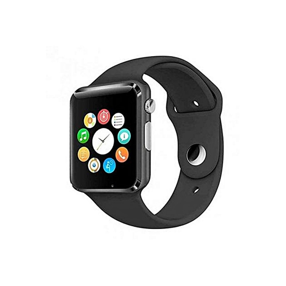 SNTIC-SMART-WATCH-Montre-Connectée-A1-Noir-1